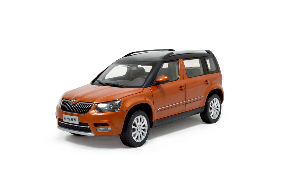 svw skoda yeti city 2014 1 18 scale diecast model car. Black Bedroom Furniture Sets. Home Design Ideas