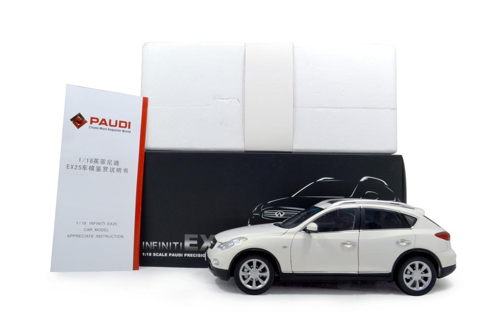 Infiniti EX25 2013 1:18 Scale Diecast Model Car 16