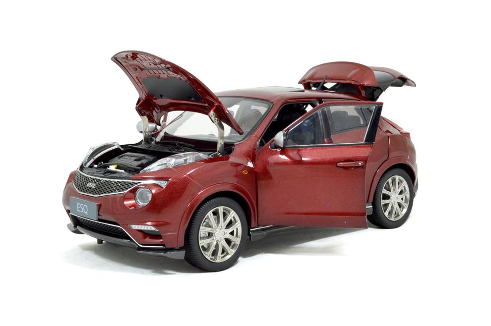 Infiniti ESQ 2014 1/18 Scale Diecast Model Car 8