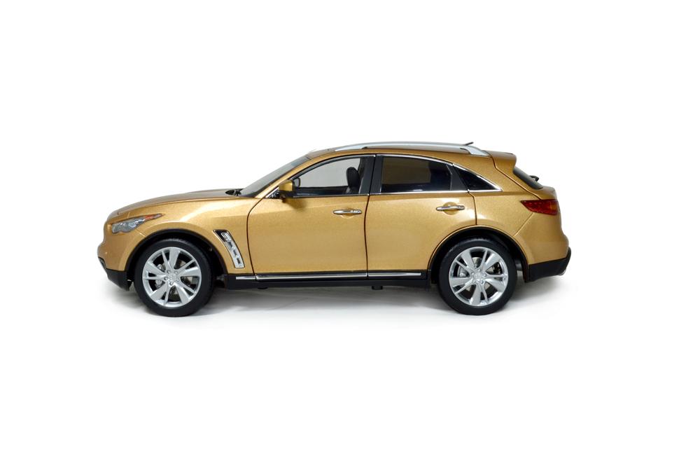 Infiniti QX70 2014 1/18 Scale Diecast Model Car 6