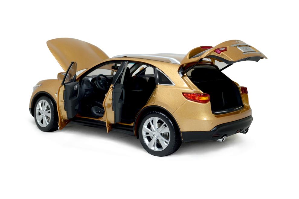 Infiniti QX70 2014 1/18 Scale Diecast Model Car 10