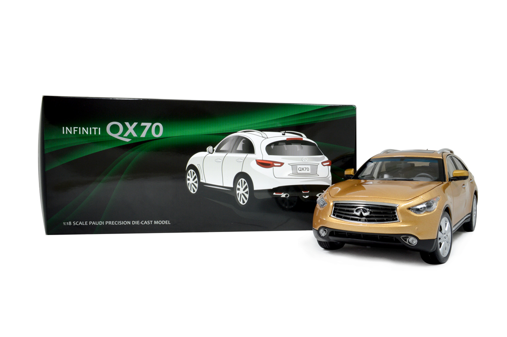 Infiniti QX70 2014 1/18 Scale Diecast Model Car 16