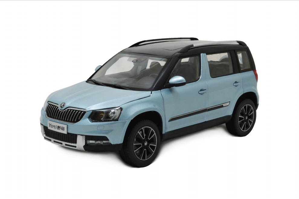 svw skoda yeti 2013 1 18 scale diecast model car wholesale. Black Bedroom Furniture Sets. Home Design Ideas