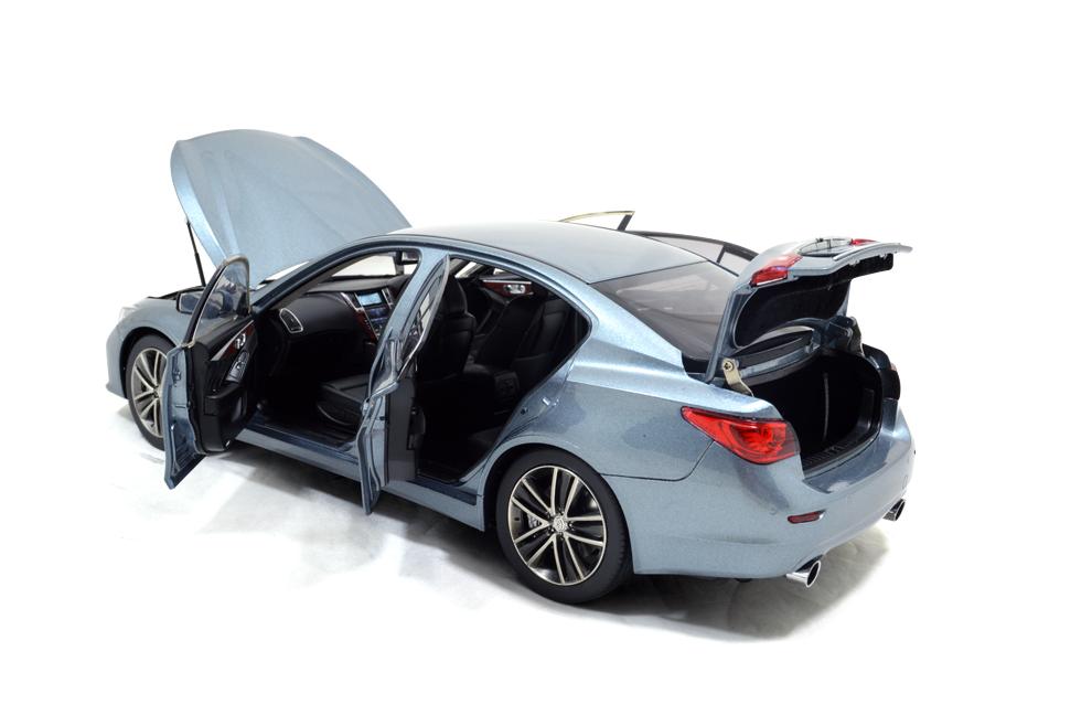 1/18 Scale Skyline 350 GT Hybrid 2015 Diecast Model Car 13