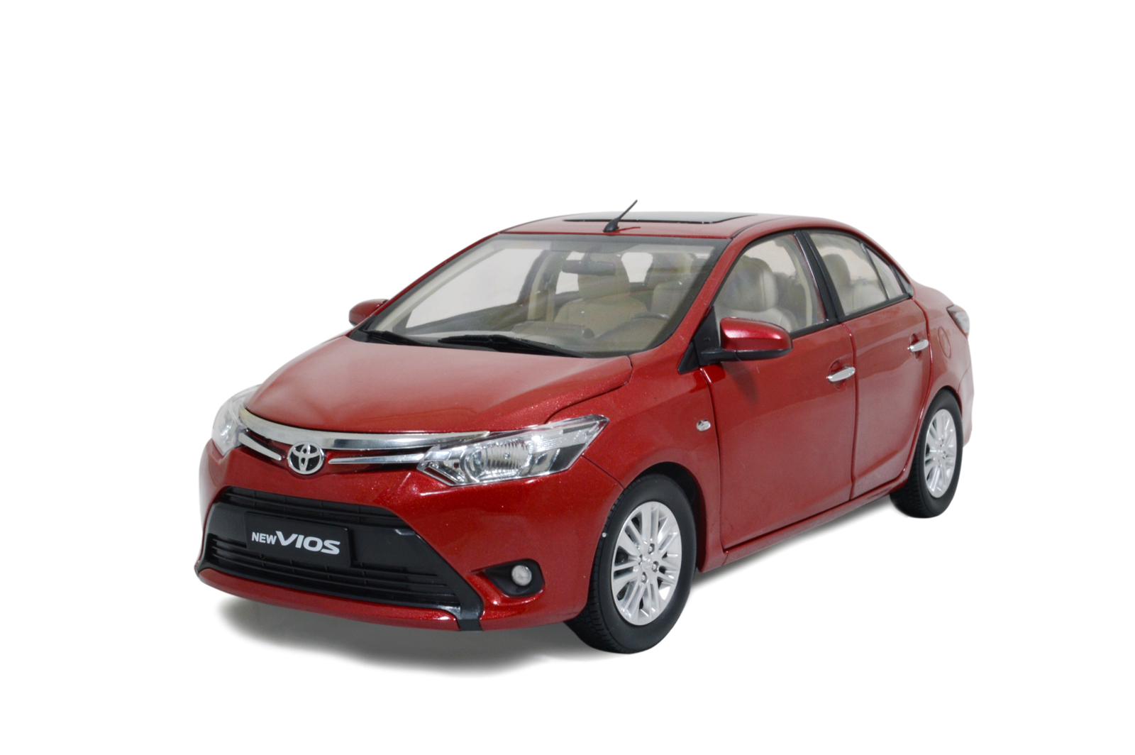 Toyota Vios 2014 1/18 Scale Diecast Model Car Wholesale