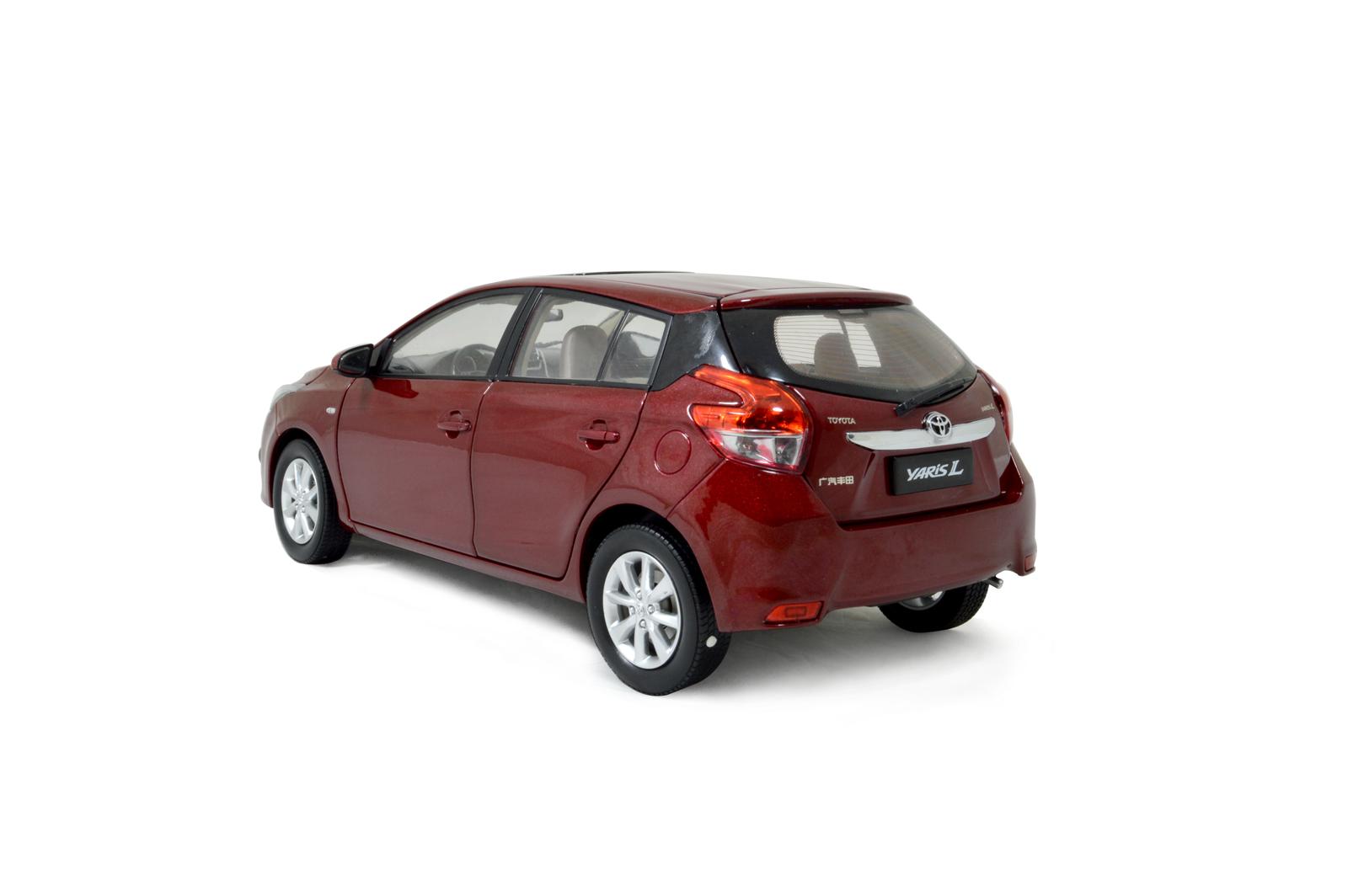 Toyota Yaris L 2014 1 18 Scale Diecast Model Car Wholesale