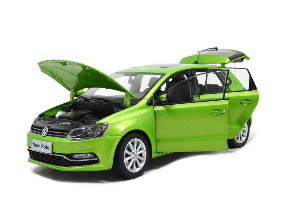 Vw Volkswagen Polo 2014 1 18 Scale Diecast Model Car
