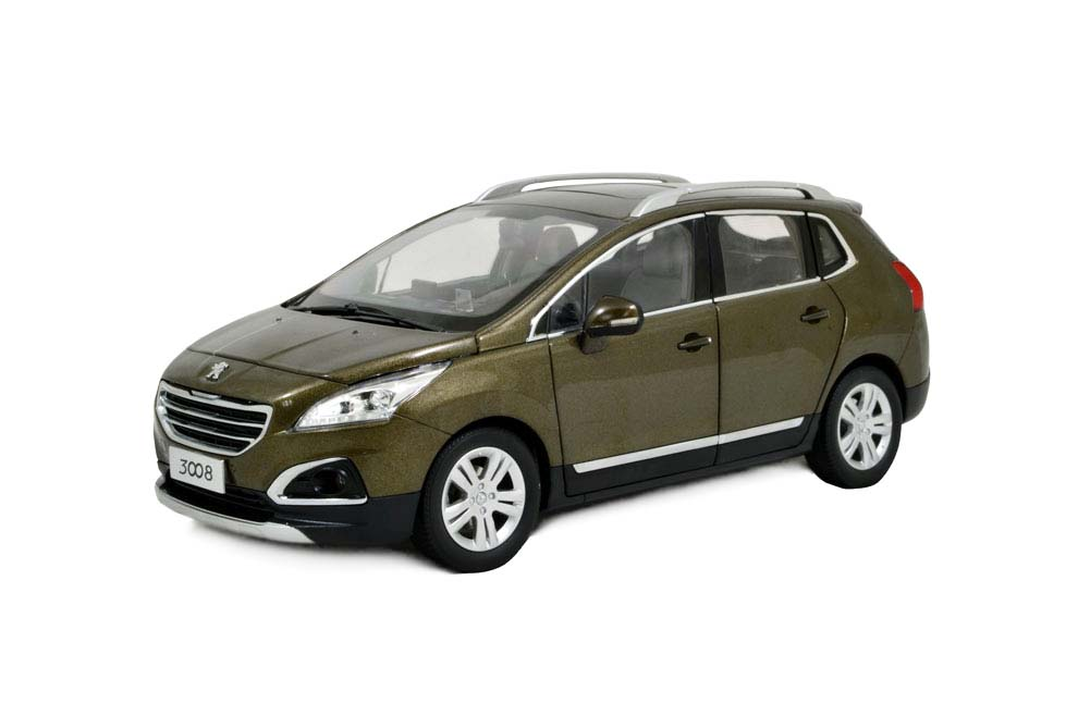 peugeot 3008 2016 1/18 scale diecast model car wholesale - paudi model