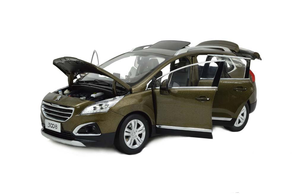 Peugeot 3008 2016 1/18 Scale Diecast Model Car Wholesale 9