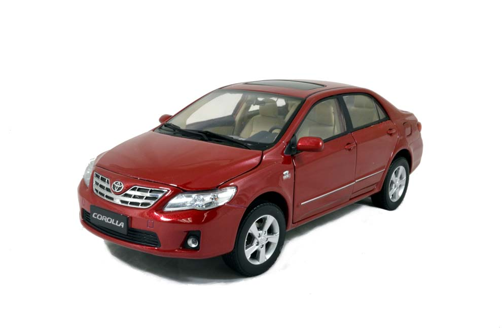 toyota corolla 2011 1 18 scale diecast model car wholesale paudi model. Black Bedroom Furniture Sets. Home Design Ideas