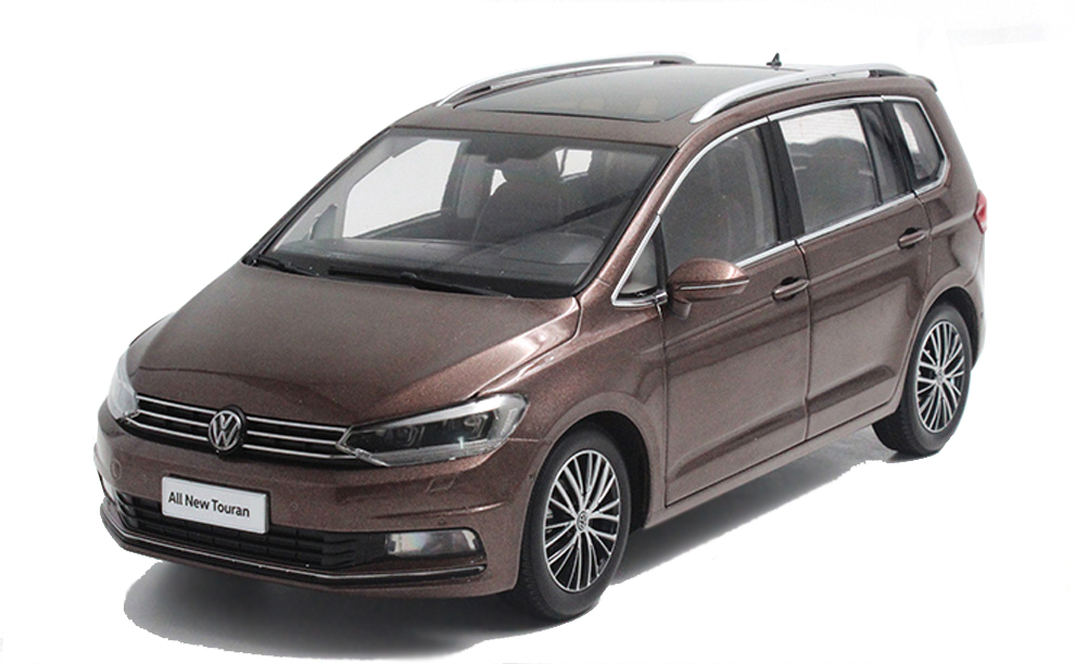 vw volkswagen new touran 2016 1 18 scale diecast model car wholesale paudi model. Black Bedroom Furniture Sets. Home Design Ideas