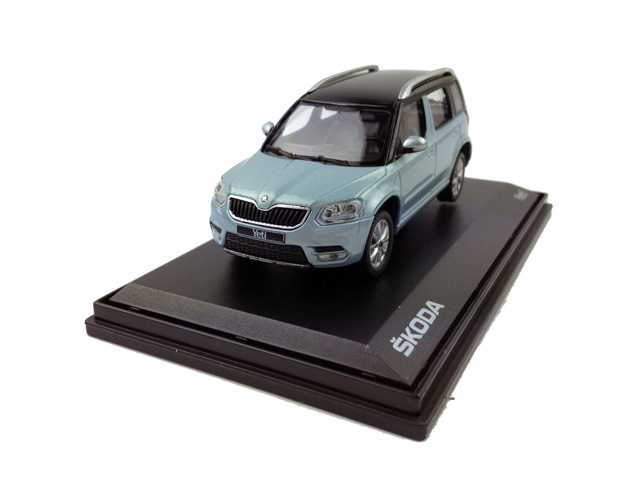 skoda yeti 1 43 scale diecast model car paudi model. Black Bedroom Furniture Sets. Home Design Ideas
