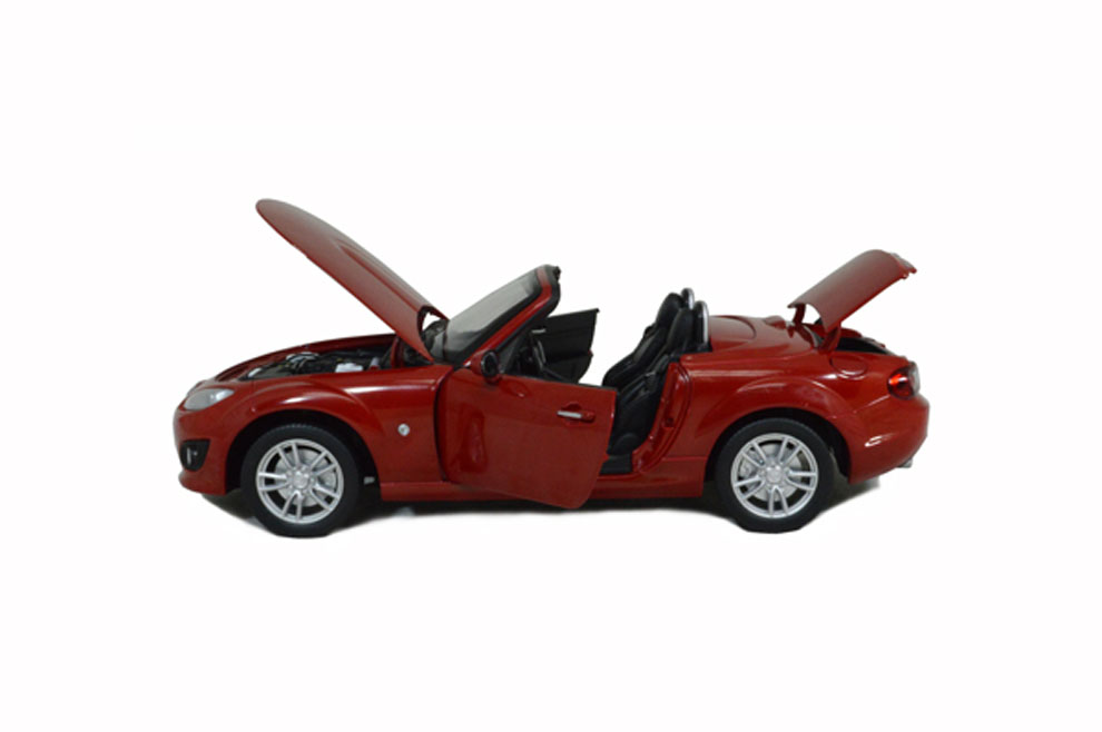 Mazda Mx 5 2012 Red 1 18 Scale Diecast Model Car Paudi Model