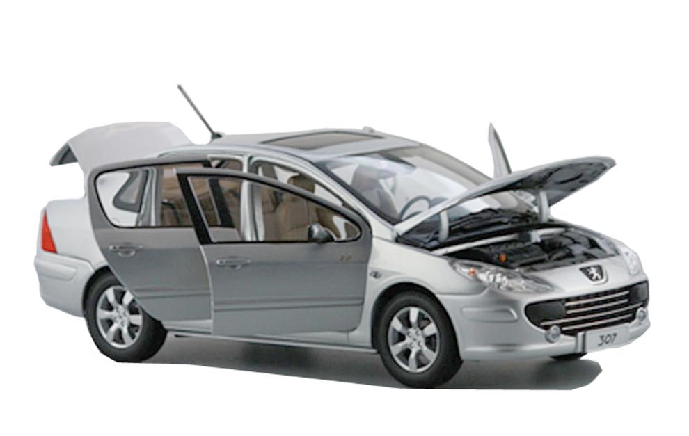 Peugeot 307 1/18 Scale Diecast Model Car Wholesale - Paudi Model