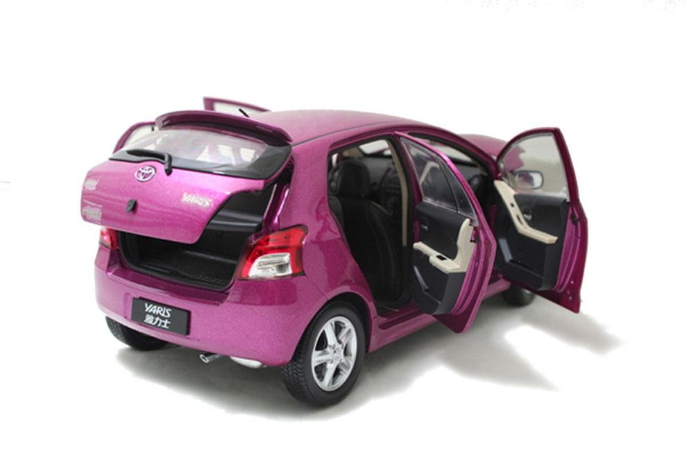 Wholesale Car Parts >> Toyota Yaris 2008 1/18 Scale Diecast Model Car Wholesale ...