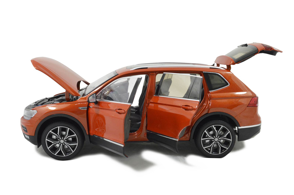 Vw Volkswagen Tiguan L 2017 1 18 Scale Diecast Model Car