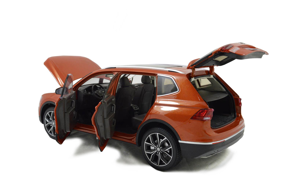 VW Volkswagen Tiguan L 2017 1/18 Scale Diecast Model Car Wholesale 11