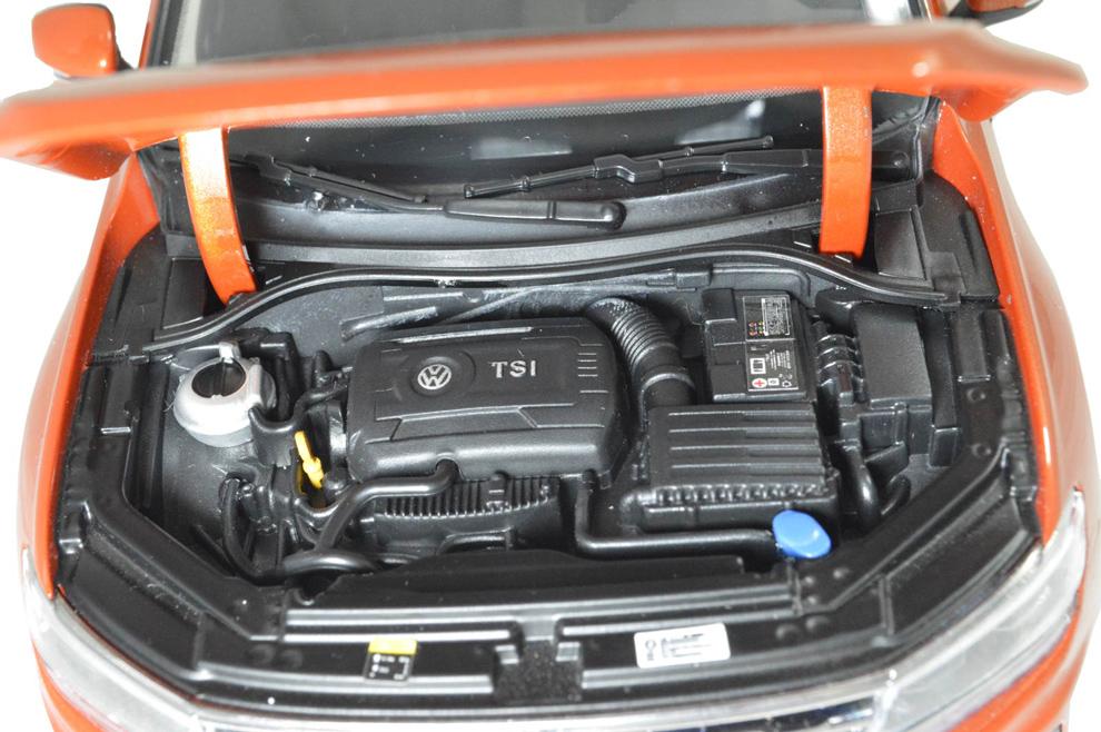 VW Volkswagen Tiguan L 2017 1/18 Scale Diecast Model Car Wholesale - Paudi Model