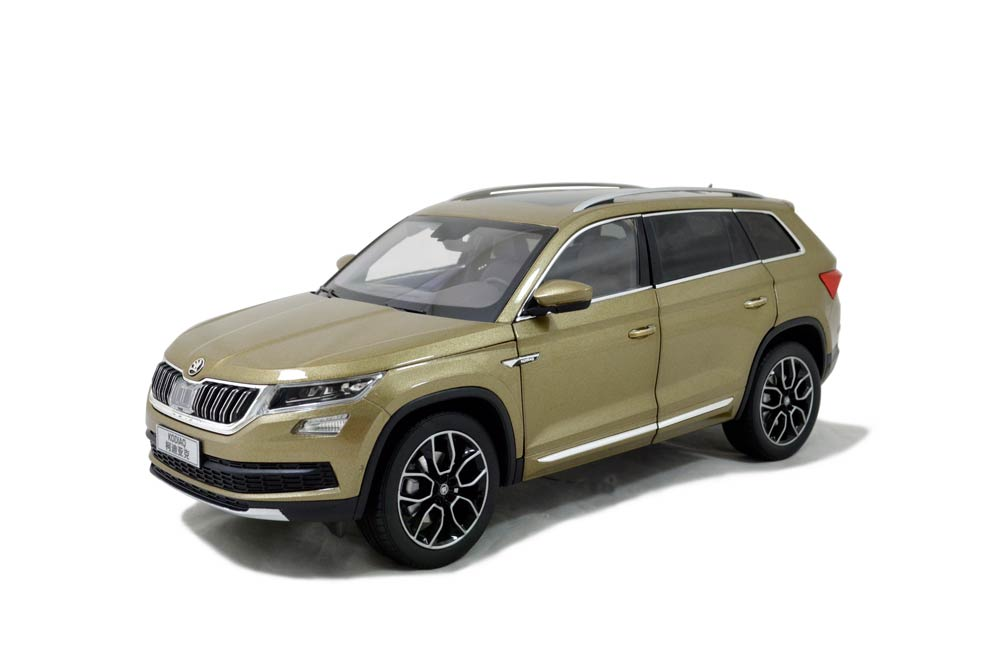 svw skoda kodiaq 2017 1 18 scale diecast model car paudi model. Black Bedroom Furniture Sets. Home Design Ideas