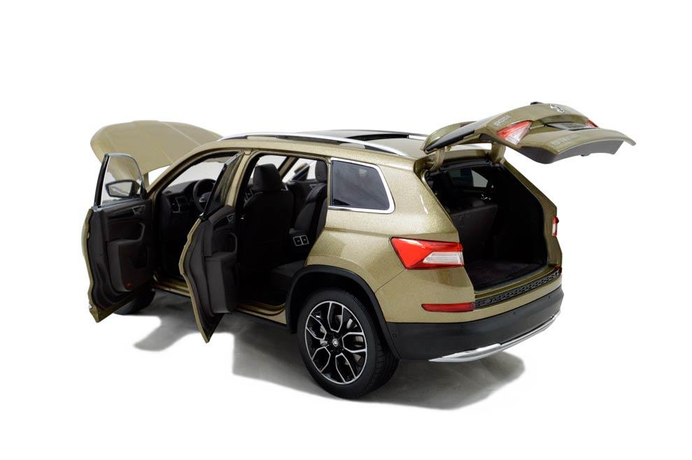 SVW Skoda Kodiaq 2017 1/18 Scale Diecast Model Car 8