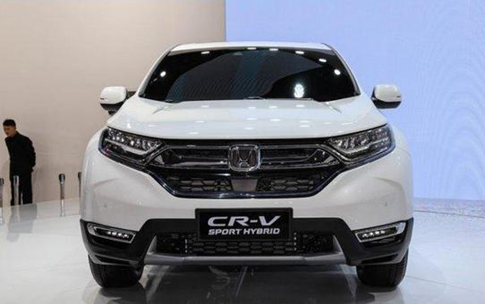 The Interior E Are Very Ious Especially Rear Seats New Cr V Uses Honda S Latest Family Style Design Hexagonal Front Grille Is Used In
