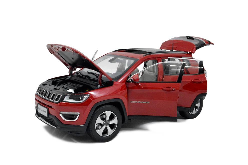 jeep compass 2017 1 18 scale diecast model car paudi model. Black Bedroom Furniture Sets. Home Design Ideas
