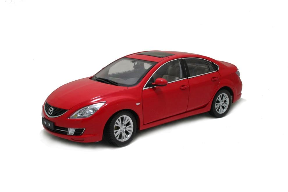 mazda 6 2009 red 1 18 scale diecast model car paudi model. Black Bedroom Furniture Sets. Home Design Ideas