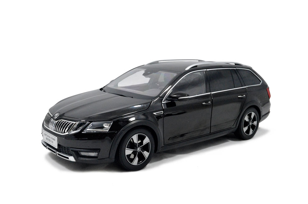 svw skoda octavia combi 2017 1 18 scale diecast model car. Black Bedroom Furniture Sets. Home Design Ideas