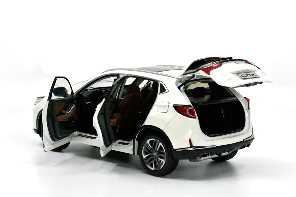 1 18 Scale Acura Cdx 2018 Diecast Model Car Paudi Model