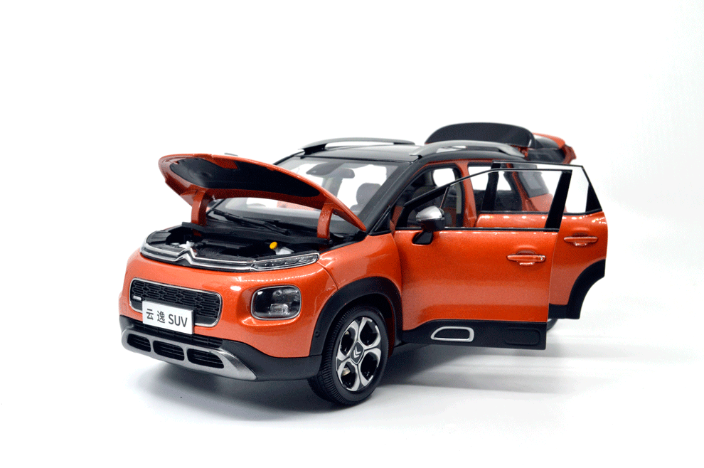 1 18 Scale Citroen C4 Aircross 2018 Diecast Model Car