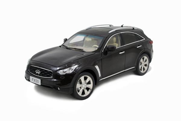 1/18比例英菲尼迪FX50S 2009 高质量仿真汽车模型(已停产) 1