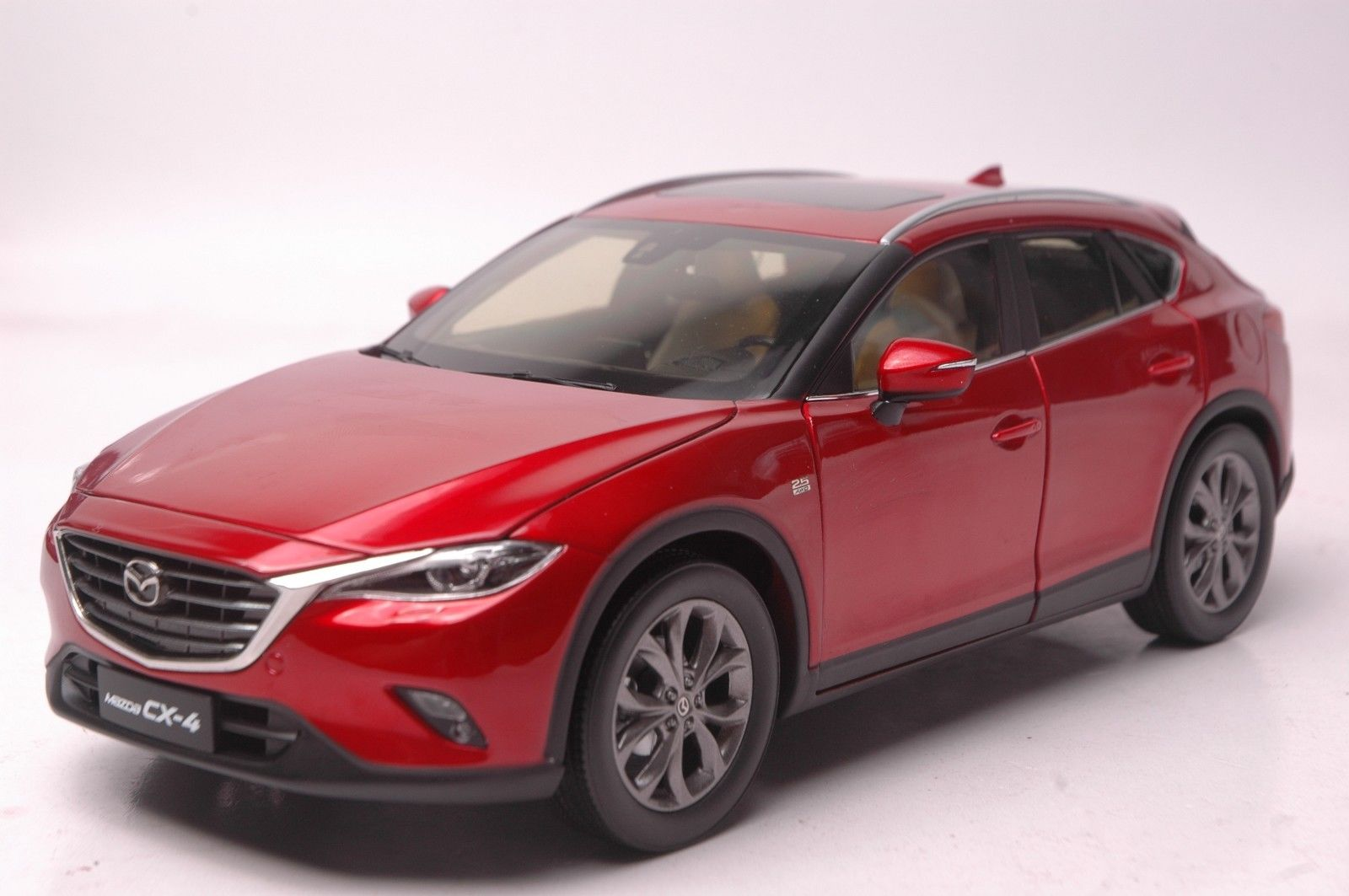 1 18 Mazda Cx 4 Diecast Model Car In Market Welcomed The
