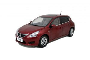 Nissan Tiida 2011 1/18 Scale Diecast Model Car Wholesale 33
