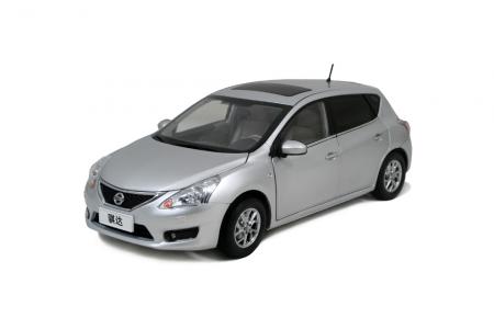 Nissan Tiida 2011 1/18 Scale Diecast Model Car Wholesale 3