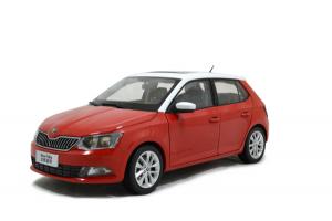 Skoda New Fabia 2015 1/18 Scale Diecast Model Car Wholesale 19