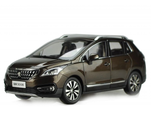 Peugeot 3008 2015 1/18 Scale Diecast Model Car Wholesale 4
