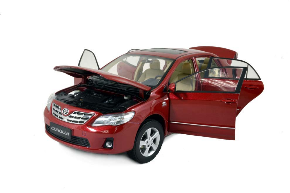 Toy Model Gallery : Toyota corolla  scale diecast model car wholesale