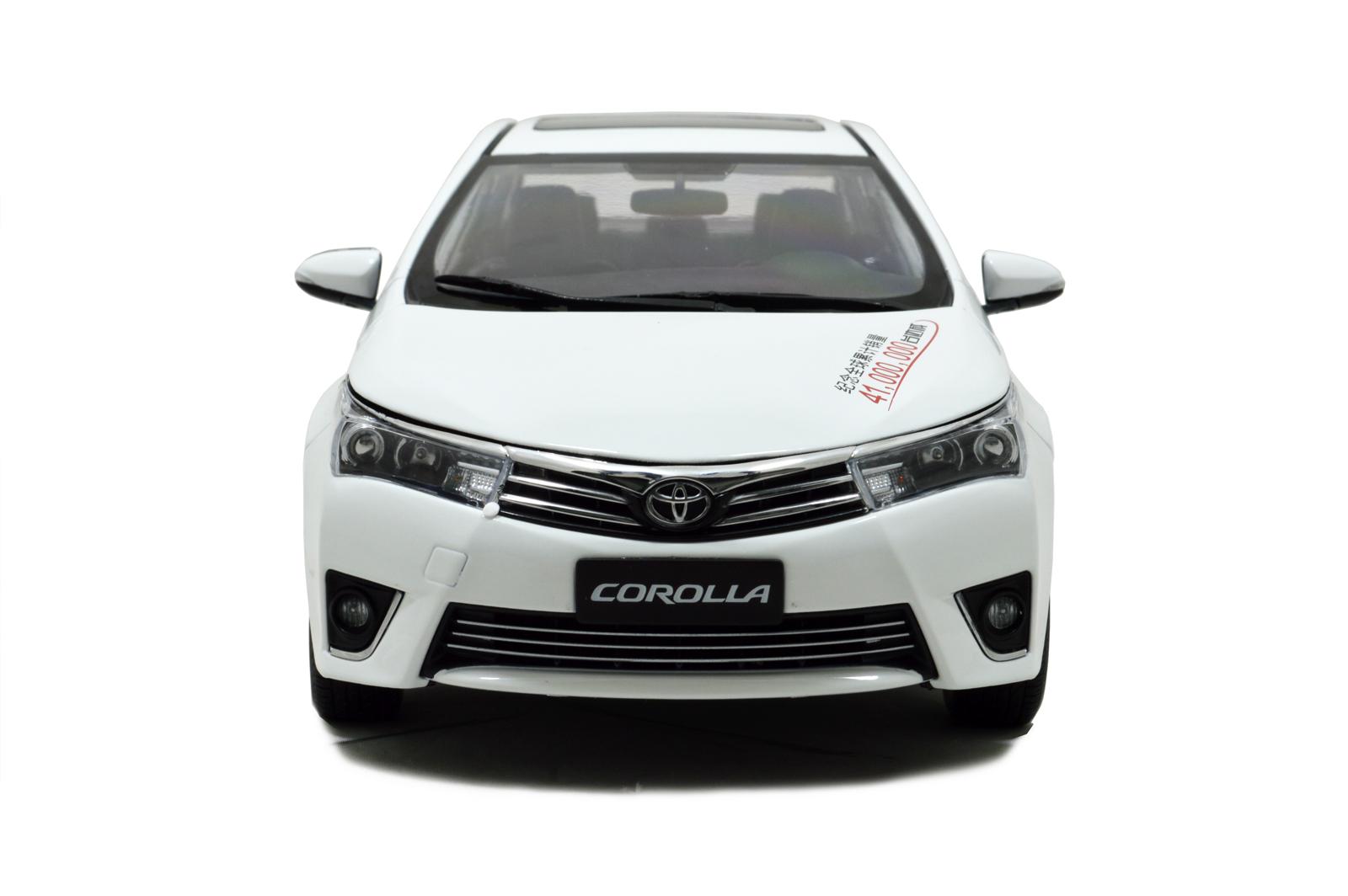 My Toyota corollamodel car 3