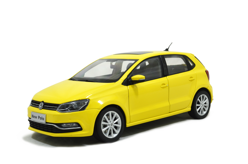 Vw Volkswagen New Polo 2014 1 18 Scale Diecast Model Car