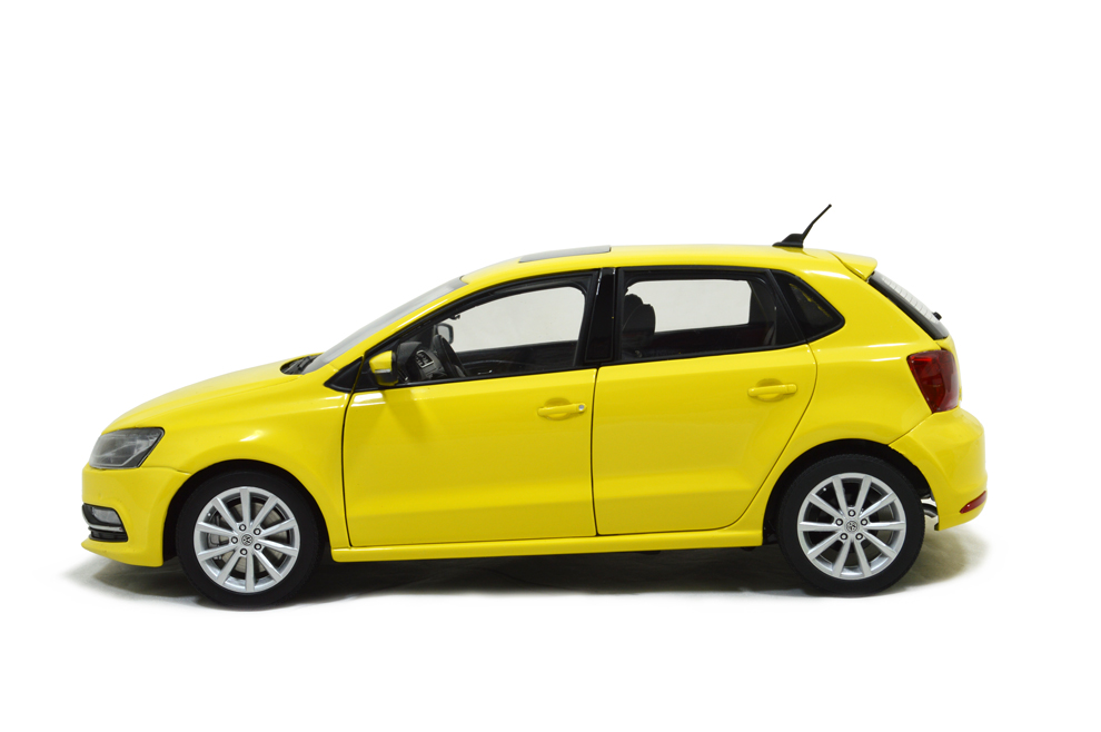 VW Volkswagen New Polo 2014 1/18 Scale Diecast Model Car ...