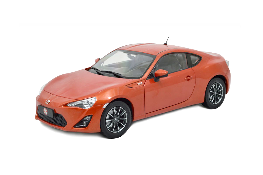 toyota GT86 1:18 scale die-cast model car 5