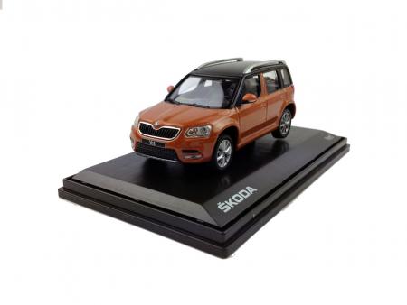 Skoda Yeti 1/43 Scale Diecast Model Car 1