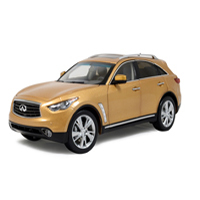 Diecast model car infiniti qx70 1:18 scale ---Paudi model 1