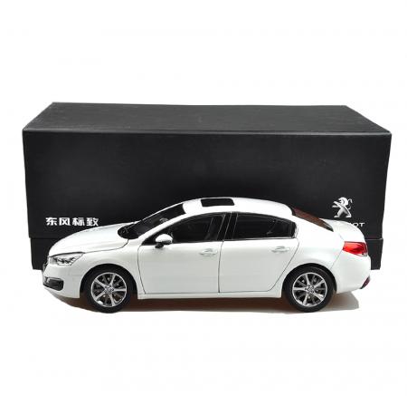 Peugeot 508 2015 1/18 Scale White Diecast Model Car Wholesale 4