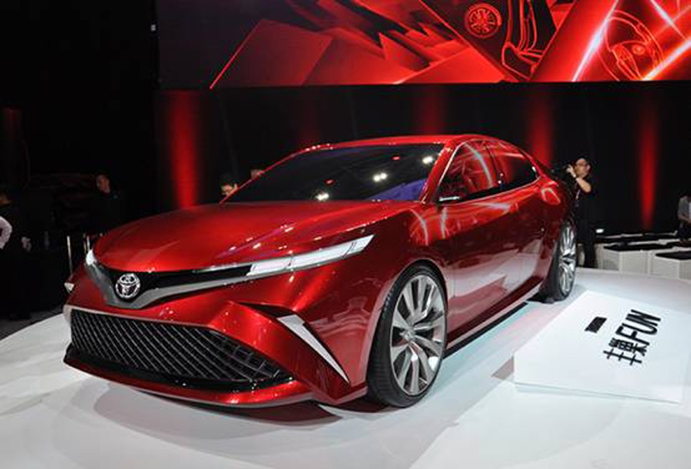The new Toyota Camry will be listed in October 3