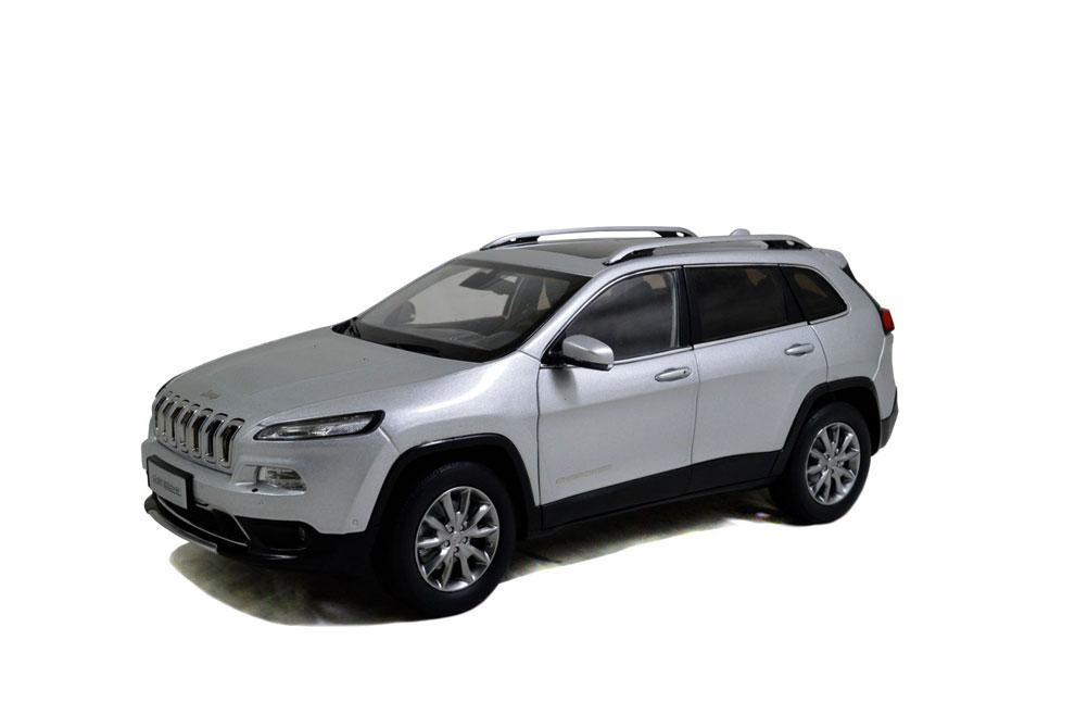 Jeep Cherokee 2016 1/18 Scale Diecast Model Car Wholesale 3