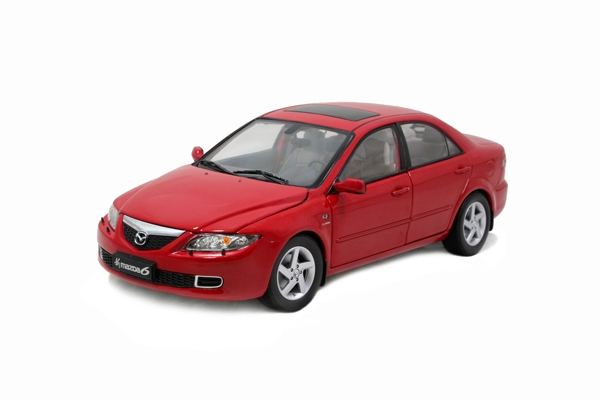 Mazda 6 diecast model car 1:18 scale alloy toy car 8