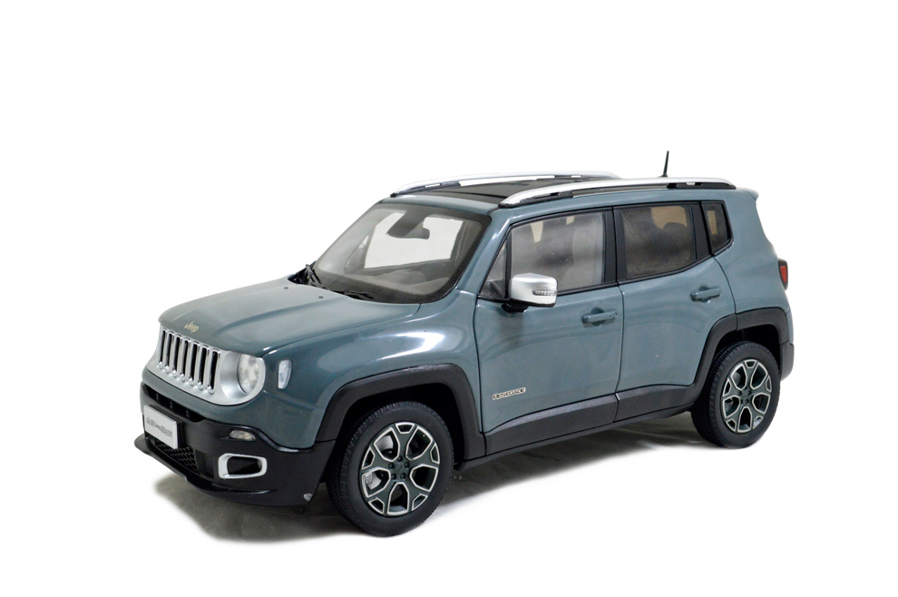 jeep renegade   scale diecast model car paudi model