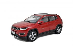Jeep Compass 2017 1/18 Scale Diecast Model Car 11