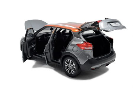 Nissan Kicks 2017 1/18 Scale Diecast Model Car 4